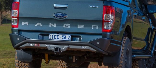ARB Summit Rear Step Tow Bar Bumper - Ford Ranger 2015 On ...