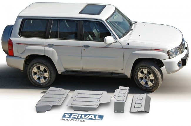 Nissan Patrol Y61 2005 To 2009 Underbody Armour Set
