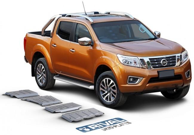 Nissan Navara D40 2005 - 2015 / Pathfinder R51 2005 - 2015 / D23 NP300 2015  On Underbody Armour Set