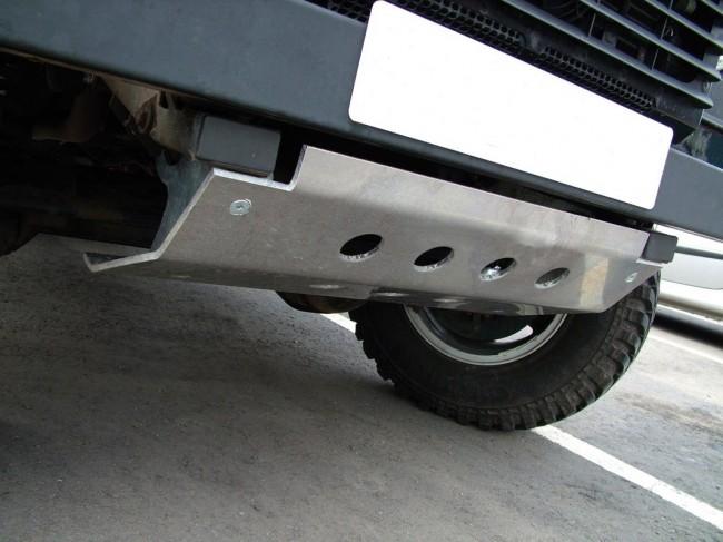 Aluminium Steering Guard DA5507LHD LAND ROVER DEFENDER LHD