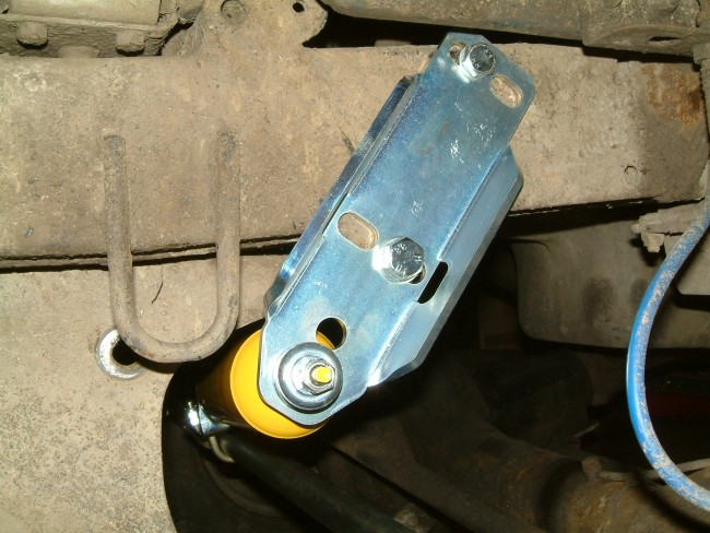 Sumo Steering Damper Side Mount Discovery & Range Rover Classic