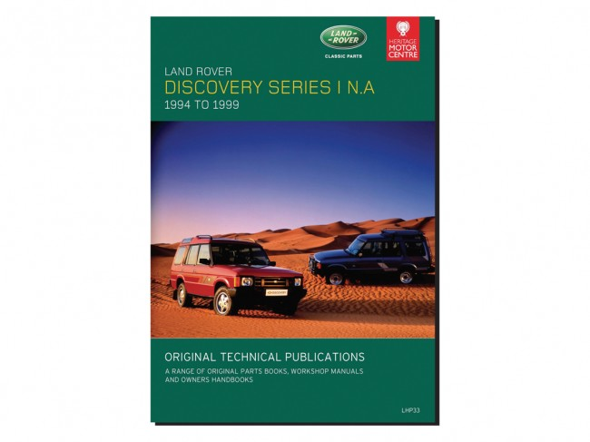 Discovery 1 NAS Technical Publications