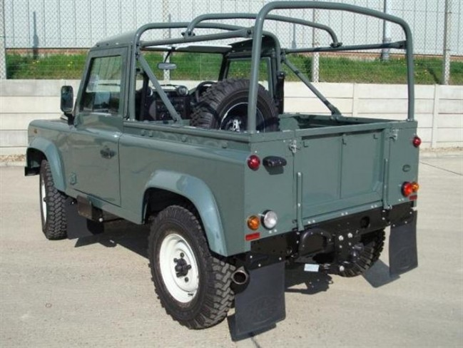 Safety Devices Defender 90 Soft Top Roll Cage