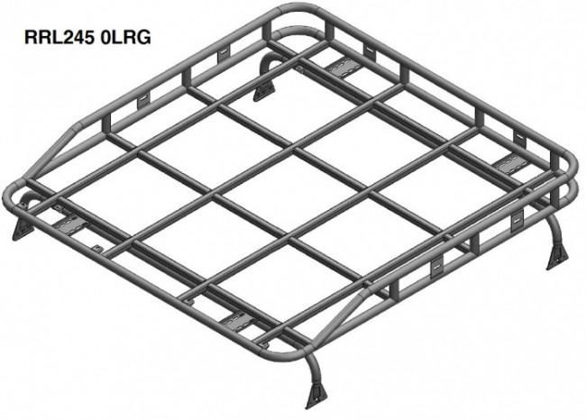 safety devices explorer roof rack 110    130 double cab