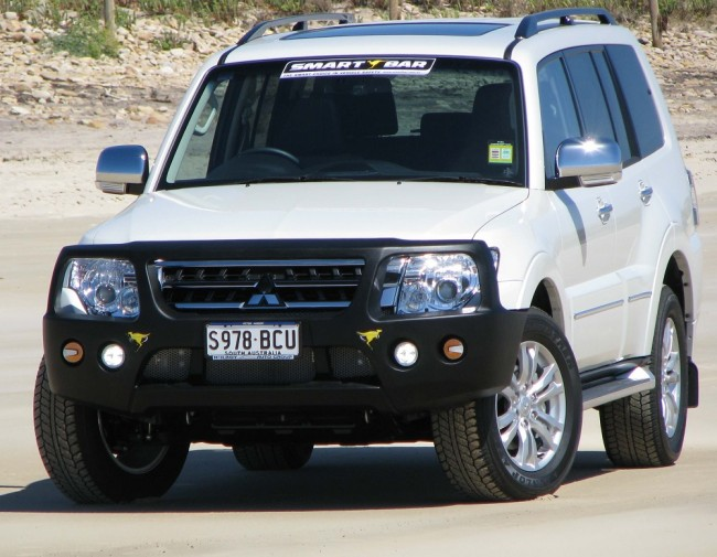ARB Smart Bar Bumper Mitsubishi Pajero NX 09/14 on Black (Winch)