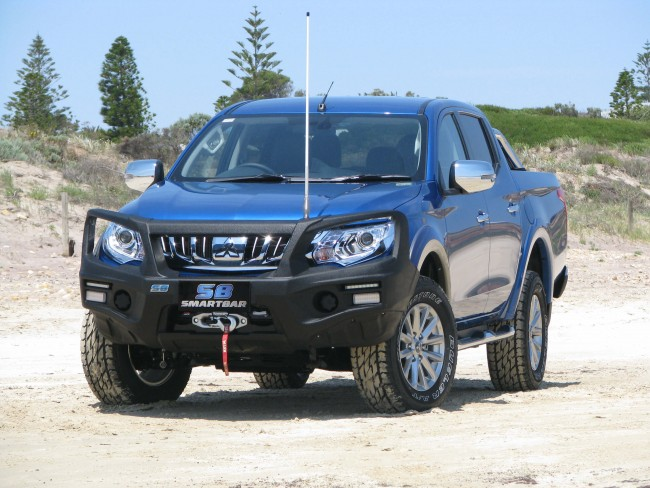ARB Smart Bar Winch Bumper Mitsubishi L200 2015 On GLX Models Black ...