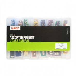 Durite Assorted J-Case and Pal Fuse Kit