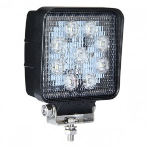 Durite 9 x 6W COB LED Work Lamp - 12/24V, 4500Lm, IP69K