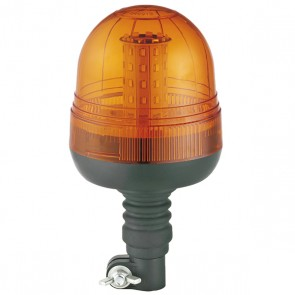 Durite Flexi DIN Mount Multifunction Amber LED Beacon - 12/24V