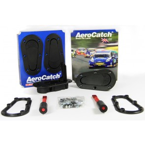 Aerocatch Bonnet Catch Kit - Black