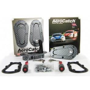 Aerocatch Bonnet Catch Kit Locking - Carbon