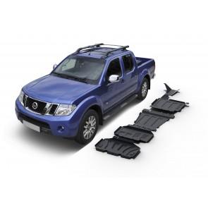 Rival - Nissan Navara D23 & D40 & Pathfinder R51 - Renault Alaskan - Full Kit w/o tank (4 pcs) - 3mm Steel