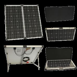 150w 12v Folding Solar Charging Kit for Expedition, Overlanding, Caravans, Motorhomes and Boats