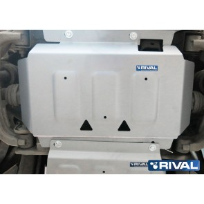 Rival - Ford Ranger - Engine Guards - 6mm Alloy