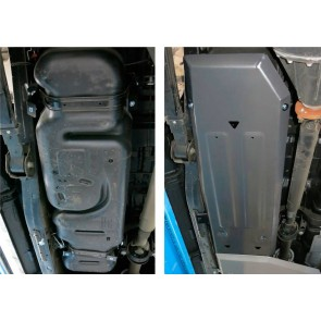 Rival - Ford Ranger - Fuel Tank Guard - 6mm Alloy