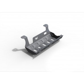 Rival - Jeep Wrangler - Exhaust Guard - 6mm Alloy