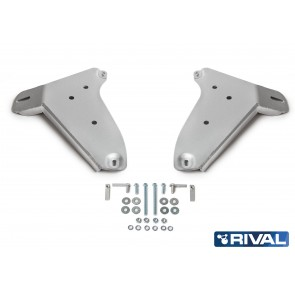 Rival - Volkswagen Amarok - Front Control Arms Guard  - 4mm Alloy