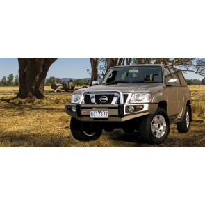 ARB Sahara Winch Mount Bumper Nissan Patrol Y61 2004 On