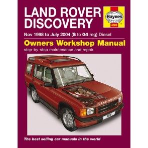 Haynes Workshop Manual for Discovery 2