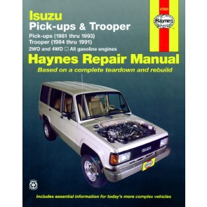 Haynes Isuzu Trooper & Pick-up 81-93 Repair Manual