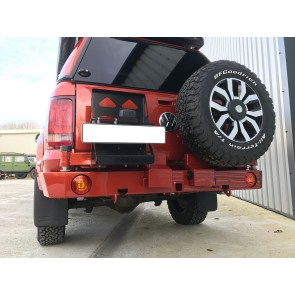 AFN VW Amarok Rear Bumper WIth Jerry Can & Wheel Mount
