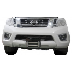 AFN Hidden Winch Mount - Nissan Navara D40