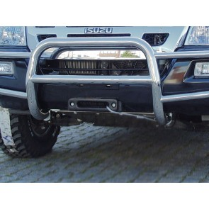 AFN Hidden Winch Mount - Isuzu D-Max / Rodeo 2007 To 2012