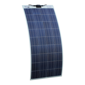 150W 12V Semi Flexible Solar Panel for Expedition, Overlanding, Caravans, Motorhomes and Boats