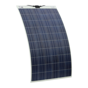 250W 24V Semi Flexible Solar Panel for Expedition, Overlanding, Caravans, Motorhomes and Boats