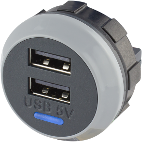 Alfatronix PVPro-D 12/24VDC USB Charger