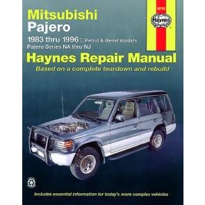 Haynes Repair Manual for Pajero