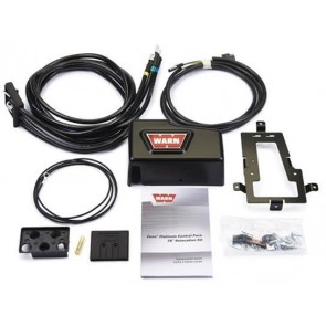 Warn ZEON Control Pack Relocation Kit - Long (Platinum)
