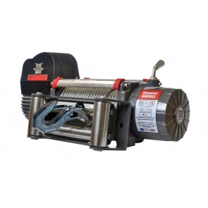 Warrior 9500 V2 High Speed Samurai 12v Electric Winch with Steel Cable - Clearance
