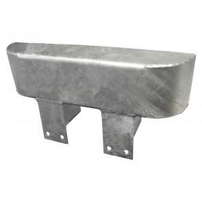 Front Bumper Bumperette Single Galvanised RTC4769