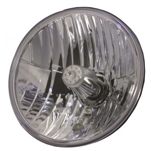 "7"" SVX Crystal Clear Headlight - LHD - Includes built in sidelight"