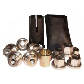 Defender / Disco 1 / RRC Locking Wheel Nut Set Alloy x 5 STC3601