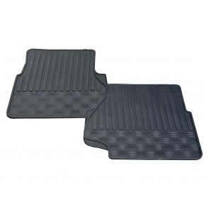 Defender Rubber Mat Set Front From XA159807 STC50172