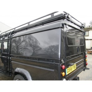 AFN Defender 130 Double Cab Aluminium Hard-top - Lift Up Tailgate