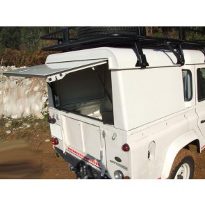 AFN Defender 110 Double Cab Aluminium Hard-top