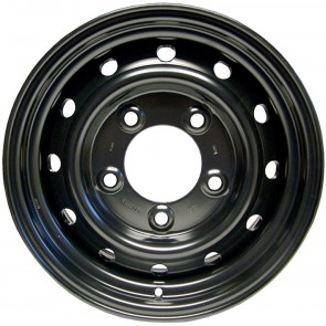 "Land Rover Wolf Style Wheel 6.5x16"" - Primed ANR4583PM"