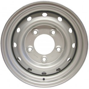 """Land Rover Wolf Style Wheel 6.5x16"""" - Silver ANR4583SILVER"""