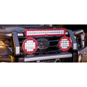 Led light bars devon 4x4 4x4 specialists arb intensity led combo light 20 aloadofball Images