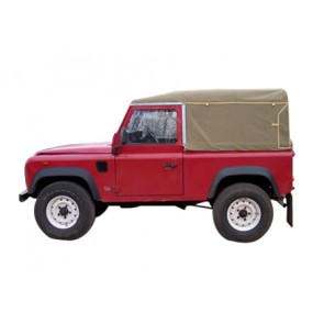 90 Inch Defender  Full Canvas Hoods