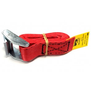Cam Buckle Strap 1m x 25mm - Red
