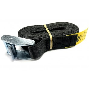 Cam Buckle Strap 3m x 25mm - Black