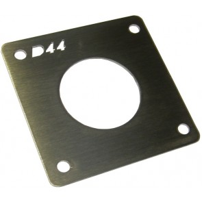D44 12v Socket Mount - 1 way