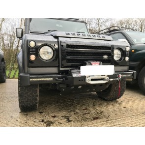 D44 Defender Clubman Bumper - Lowline Air Con Standard With LED Driving Lights