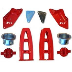D44 King Mounting Kit For Defender (Without bumpstop)