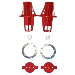D44 Rear King Bumpstop Mounts - 110