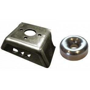 D44 Stainless Centre Winch Fairlead